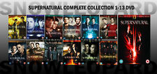 SUPERNATURAL COMPLETE COLLECTION 1-13 DVD Season 1 2 3 4 5 6 7 - 10 11 12 13 NEW