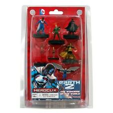 HEROCLIX SUPERMAN / WONDER WOMAN Earth 2 Wonders of the World
