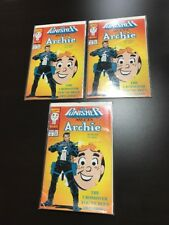 The Punisher Meets Archie #1 Die-Cut Cover 1994. 3 Comics. Great Lot (D)