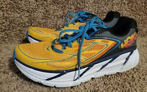 Hoka One One Clifton 3 Mens 8 Running Shoe Orange