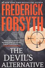 THE DEVIL'S ALTERNATIVE by Frederick Forsyth * Espionage Suspense Intrigue * SC