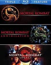 Mortal Kombat/Mortal Kombat 2/Mortal Kombat: Legacy (Blu-ray Disc)