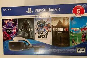 Sony PlayStation 4 PS4 VR Five 5 Game Mega Pack Bundle