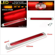 """17"""" 47LED Dual Color Flowing Turn Brake/Running Stop Tail Turn Lights for Truck"""