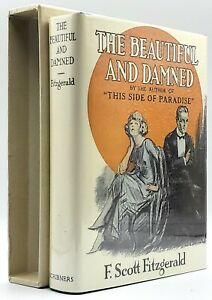 F Scott Fitzgerald / Beautiful and Damned FIRST EDITION LIBRARY FACSIMILE 2000