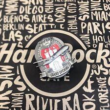 Hard Rock Cafe HRC HAMBURG AIRPORT GRAND OPENING GO Lapel Pin NEW PLANE Flugzeug