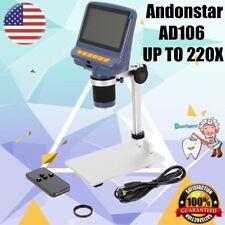 "AD106 Digital Microscope 4.3"" Display SMD Soldering Tool Machine Phone Repair"