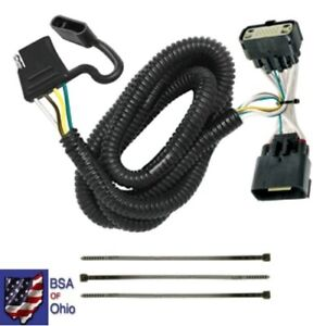 Tekonsha Trailer Hitch Wiring Tow Harness For Ford Explorer 2011 2012 2013 2014