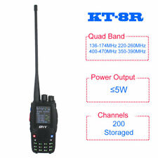 QYT KT-8R Quad Band radio 136-174&400-470MHz color display 5W UV transceiver
