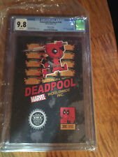 Despicable Deadpool #300 Super Mario Nintendo Box Variant CGC Graded 9.8 WP