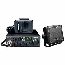 Uniden PRO520XL + BC15 2-Way CB Radio Operates on 40 FCC-Approved AM Frequencies