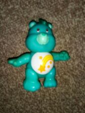 CAREBEARS Teddy Toy RETRO TV green shooting star poseable WISH BEAR