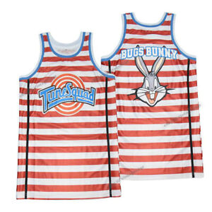 Men Women Space Jam Basketball Jerseys Bugs Stripe Edition Stitched Custom Names