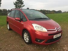 2010 60 Citroen C4 Picasso VTR+ 1.6 Diesel 5 Speed Manual MPV Red
