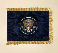 USA PRESIDENTIAL SEAL OF THE PRESIDENT FRINGED LIMOUSINE FLAG