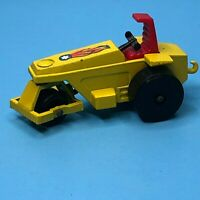 Vintage 1973 Lesney Matchbox Superfast Rod Roller  tractor No 21