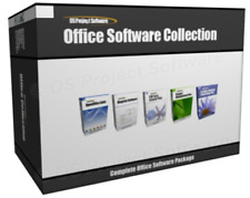 Collection Office Project Management Microsoft MS Excel Word Compatible Software