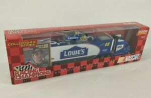 NASCAR Winners Circle Team Transporter : Lowe's #48 Jimmy Johnson : Blue 2002