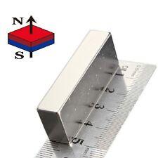 1 piece of 50mm x 25mm x 12.5mm Neodymium Magnets N52 Rare Earth NdfeB Block Mag