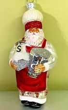 "Patricia Breen Season the Season Santa Reindeer Pants Salt Pepper 2003 #2346 6"""
