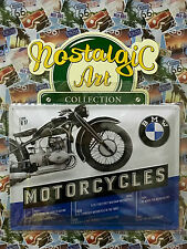 BMW Motorcycles 1935 R17 - Tin Metal Wall Sign