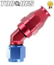 AN -6 (-06AN JIC AN6) 45 Degree FORGED Teflon PTFE  Fuel Hose Fitting