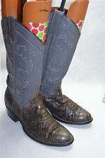 Gray Snake Skin Size 6 Western Men's Boots