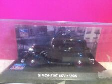 SUPERBE SIMCA FIAT 6 CV 1935 1/43 NEUF BOITE P2