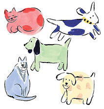 Cats Dogs 25 Fun Wallies Kitten Puppies Cat Dog Decal Stickers Decorate Anything