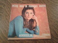 45 tours sheila 18e disque petite fille de francais moyen