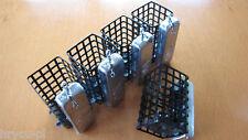 5 Stück Futterkorb mit Deckel - Metall 100g quadratisch