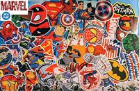 50+ Super hero vinyl decals stickers marvel comics hulk spider man iron man USA