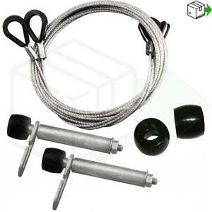 GARADOR Rollers Mk3c 96mm Spindles Cables Spindles Garage Door Repair kit Wheels