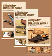 Making Leather Knife Sheaths (3 Book Set) / knife making / leather working