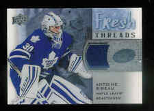 2015-16 UPPER DECK ICE FRESH THREADS ANTOINE BIBEAU JERSEY RC MAPLE LEAFS