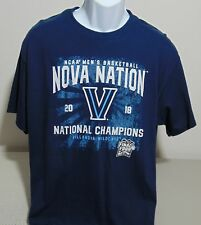 Villanova Wildcats Basketball 2018 National Champions T-Shirt Mens L - NWT NEW