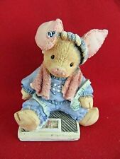 139. Tlp This Little Piggy Had None 1994 Enesco Figurine 124559