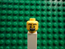 Lego mini figure 1 Yellow head with double sided face #5