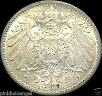 German Empire 1914A Silver Mark Coin