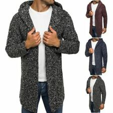 Cotton Hooded Jumpers & Cardigans for Men