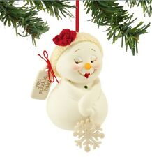 SNOWPINIONS YOU SPARKLE, BABY ORNAMENT BRAND NEW