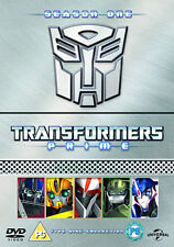 DVD:TRANSFORMERS PRIME - SEASON 1 PARTS 1-5 COLLECTION - NEW Region 2 UK