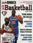 LINDY'S SPORTS PRO BASKETBALL  PREVIEW 2021-2022 NBA Athlon illustrated fantasy