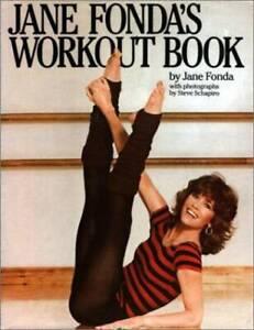 Jane Fonda's Workout Book - Hardcover By Jane Fonda - GOOD
