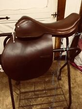 "CROSBY Prix de Nation Style ENGLISH Combination SADDLE 16"" Ave Tree Made ENGLAND"