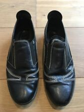 Tods Tod's Black Leather Driving Shoes Sneaker 38.5 UK 6 6.5 US 8.5