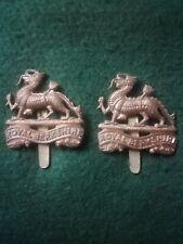 Original WW1 / WW2 Royal Berkshire Regiment Cap Badges , Sold Separately.