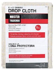 SC, Master Tradesman, 4' x 15', 8 OZ, Canvas Dropcloth