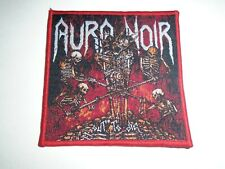 AURA NOIR OUT TO DIE WOVEN PATCH