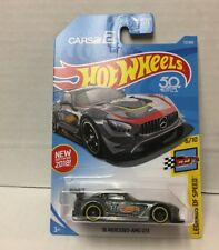 '16 Mercedes-AMG GT3 #72 * Grey * 2018 Hot Wheels USA Case D * WC21